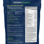 Athletic Greens New Zealand Dietary Supplement Facts