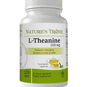 L-Theanine 200mg - 120 Vegetarian Capsules