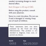 Limbic Medical CBD Drops Ingredients